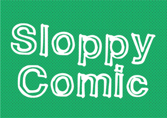 Print on Demand: Sloppy Comic Display Font By GraphicsBam Fonts