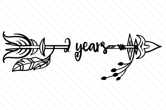2 Years Svg Cut File By Creative Fabrica Crafts Creative Fabrica