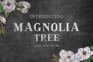 Print on Demand: Magnolia Tree Serif Serif Font By BeckMcCormick