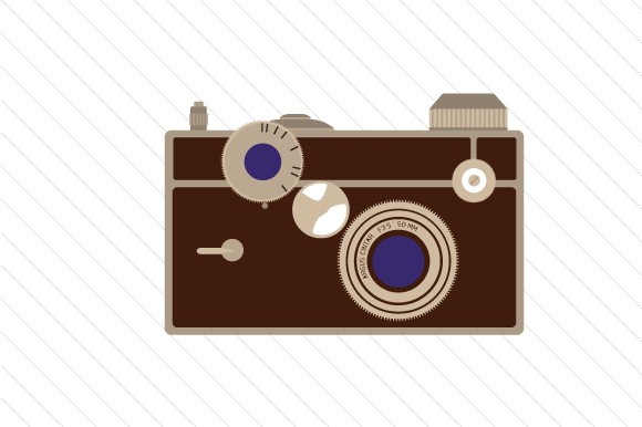 35mm Size Camera Designs & Drawings Craft Cut File By Creative Fabrica Crafts