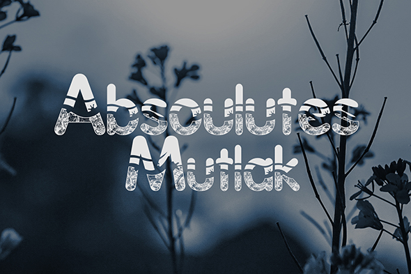 Print on Demand: Absoulutes Display Font By Gblack Id - Image 2
