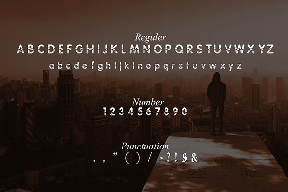 Print on Demand: Absoulutes Display Font By Gblack Id - Image 3