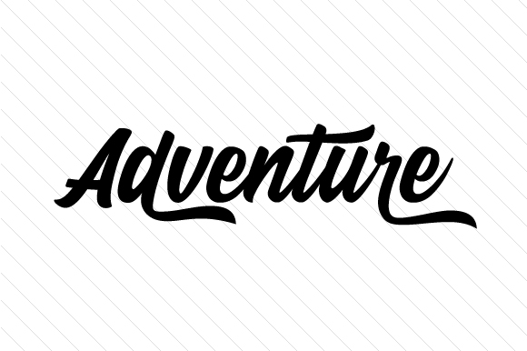 Adventure Word Art Craft Cut File By Creative Fabrica Crafts - Image 1