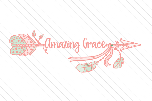Download Free Amazing Grace Svg Cut File By Creative Fabrica Crafts Creative for Cricut Explore, Silhouette and other cutting machines.