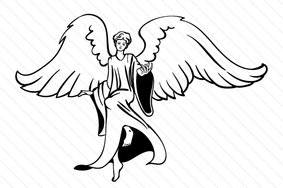 Download Free Angel Design Archivos De Corte Svg Por Creative Fabrica Crafts for Cricut Explore, Silhouette and other cutting machines.