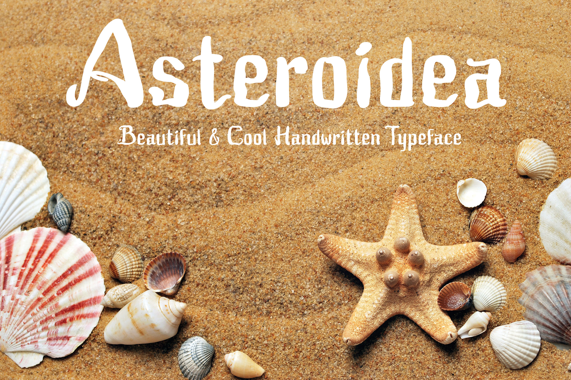 Print on Demand: Asteroidea Display Font By Royaltype