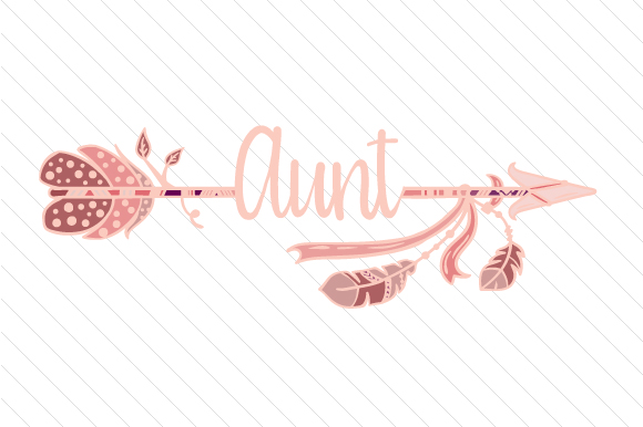 Aunt Boho Craft Cut File By Creative Fabrica Crafts - Image 1