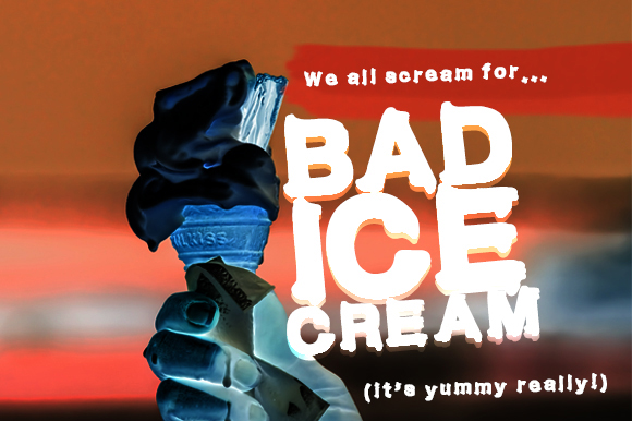 Bad Ice Cream Font By GraphicsBam Fonts Image 1