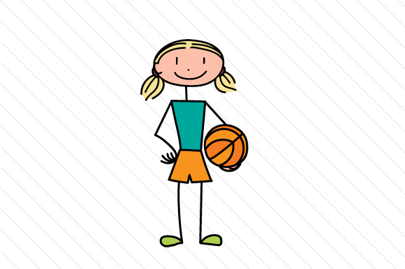 Download Free Basketball Girl Svg Cut File By Creative Fabrica Crafts for Cricut Explore, Silhouette and other cutting machines.