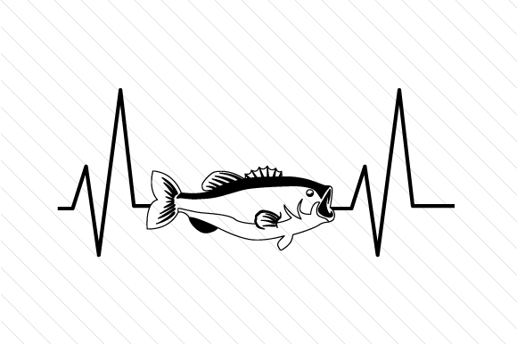 Download Free Bass Heartbeat Svg Cut File By Creative Fabrica Crafts for Cricut Explore, Silhouette and other cutting machines.