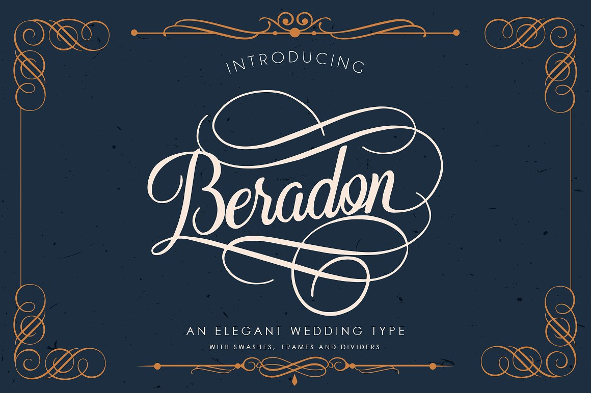 Print on Demand: Beradon Script & Handwritten Font By BlackCatsMedia