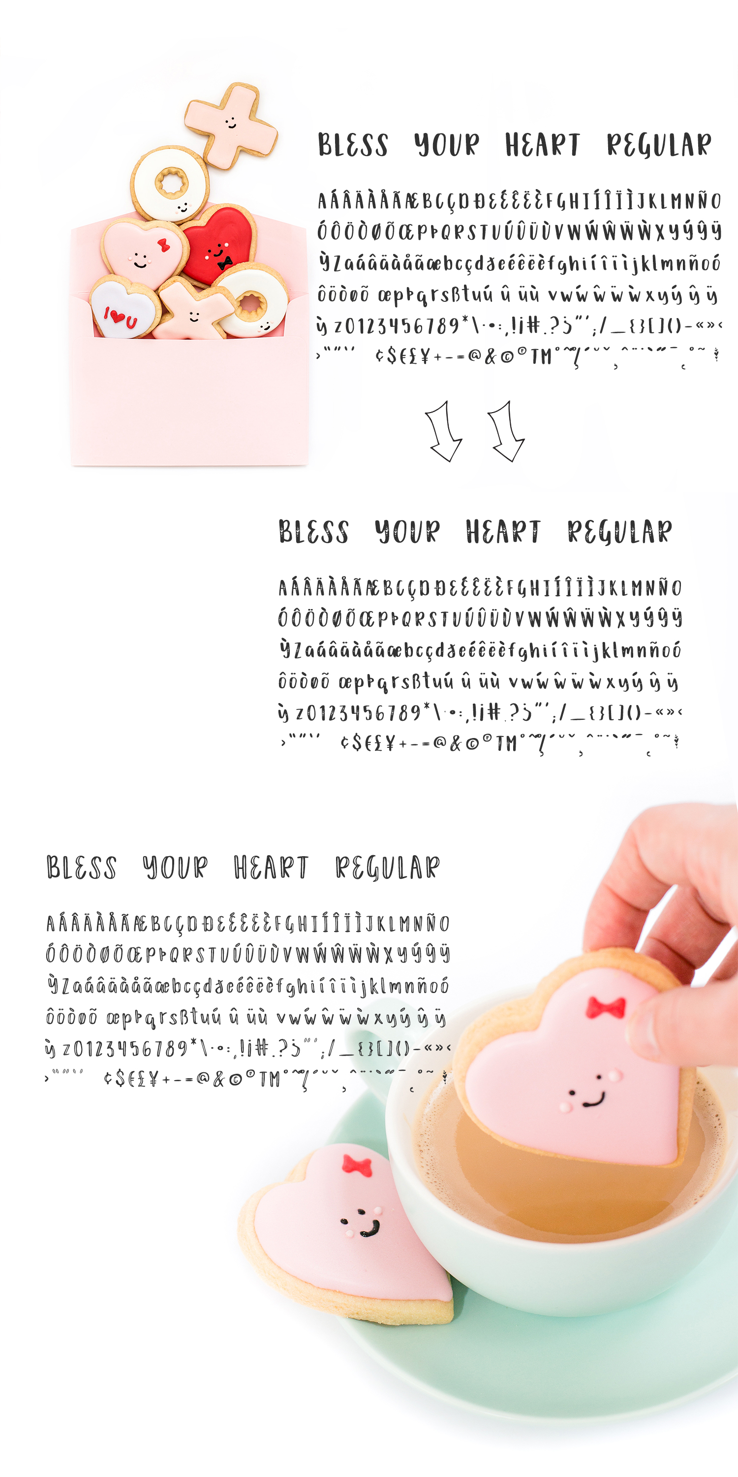 Download Free Bless Your Heart Font By Beckmccormick Creative Fabrica for Cricut Explore, Silhouette and other cutting machines.