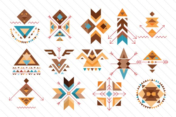 Boho Symbols Boho Craft Cut File By Creative Fabrica Crafts