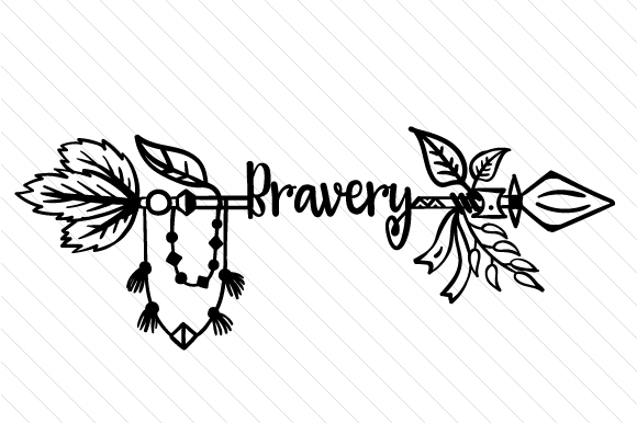 Bravery Boho Craft Cut File By Creative Fabrica Crafts - Image 2