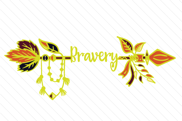 Bravery Boho Craft Cut File By Creative Fabrica Crafts
