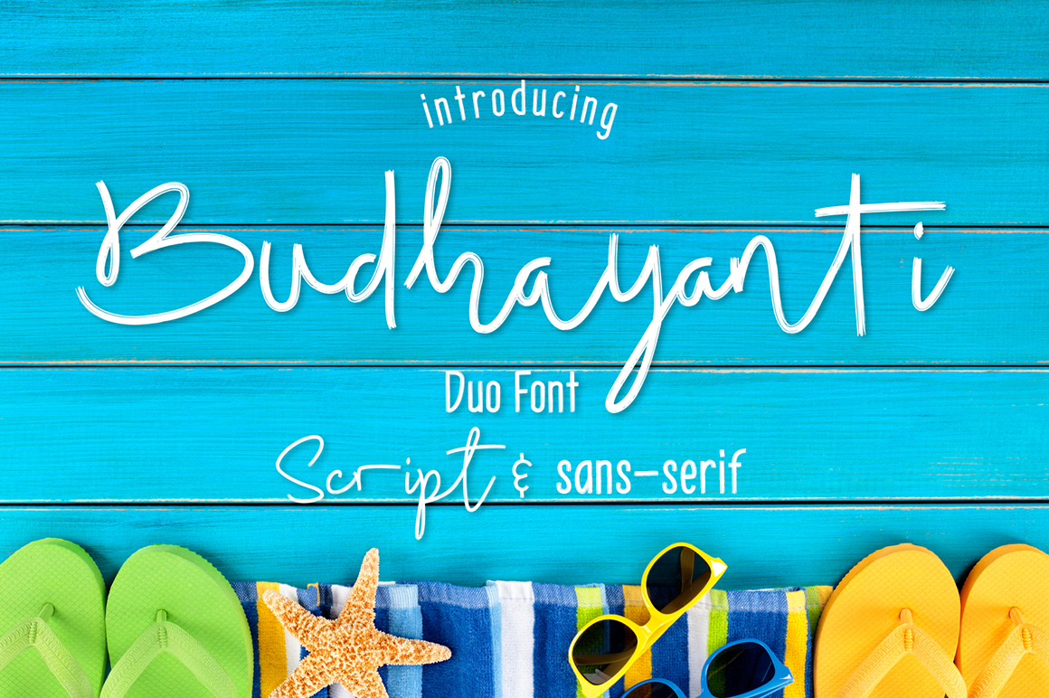 Print on Demand: Budhayanti Script & Handwritten Font By madeDeduk - Image 1