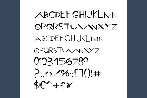 Download Free Callout Post Font By Marlee Pagels Creative Fabrica for Cricut Explore, Silhouette and other cutting machines.