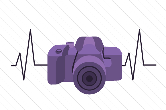 Download Free Camera Heartbeat Svg Cut File By Creative Fabrica Crafts for Cricut Explore, Silhouette and other cutting machines.