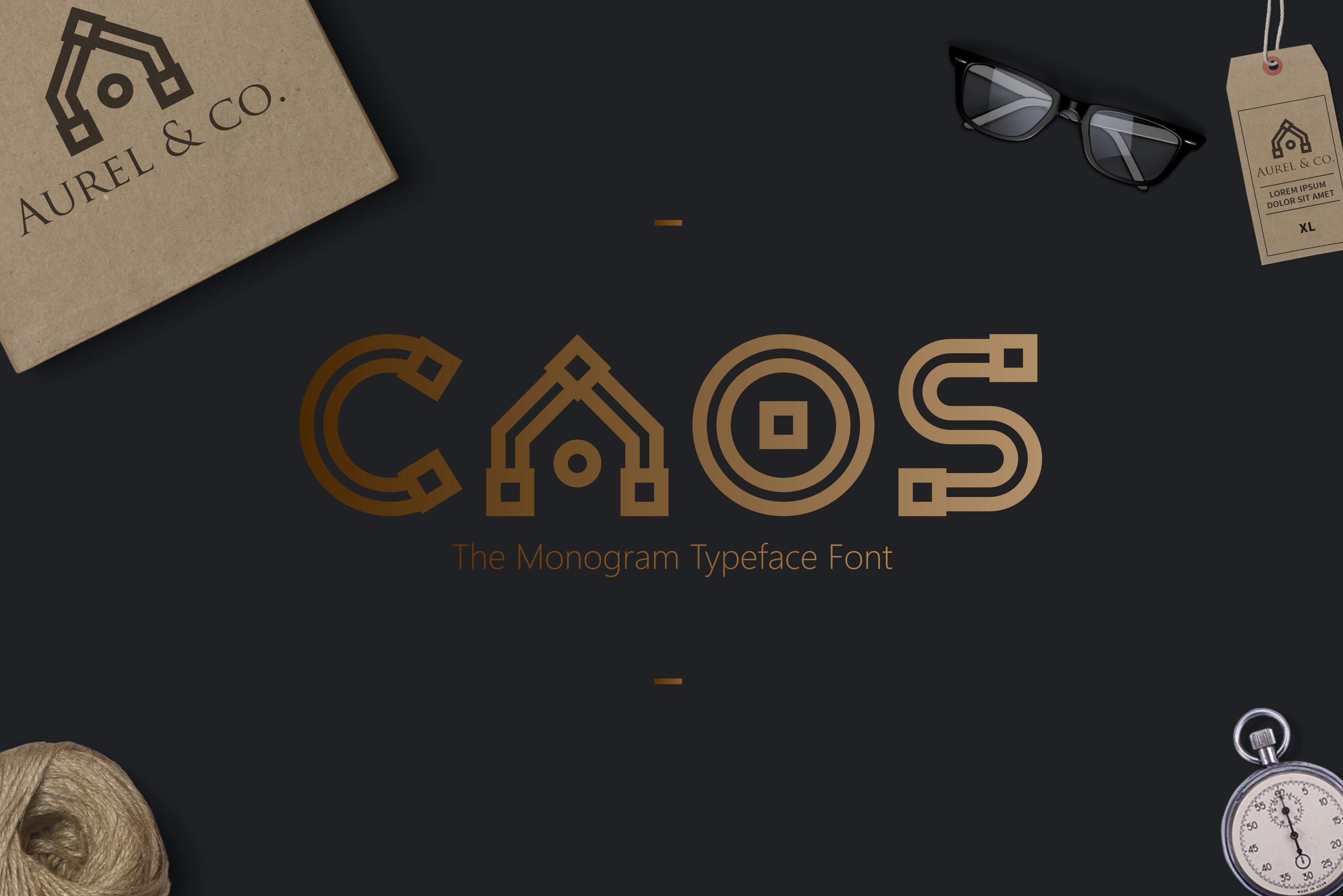 Print on Demand: Caos Display Font By Sameeh Media