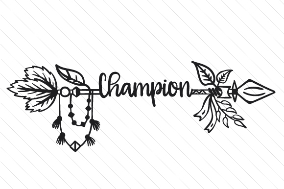 Champion Boho Craft Cut File By Creative Fabrica Crafts - Image 2