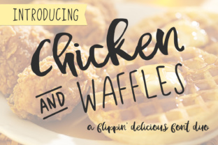 Chicken and Waffles by AutumnLanePaperie