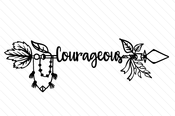 Courageous Boho Craft Cut File By Creative Fabrica Crafts - Image 2