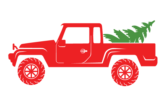 Christmas Truck Kit Volume 2 - Create Your Own Truck Christmas Craft Cut File By Creative Fabrica Crafts - Image 10