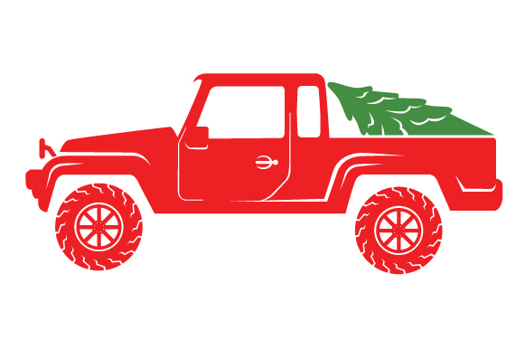 Christmas Truck Kit Volume 2 - Create Your Own Truck Christmas Craft Cut File By Creative Fabrica Crafts - Image 17