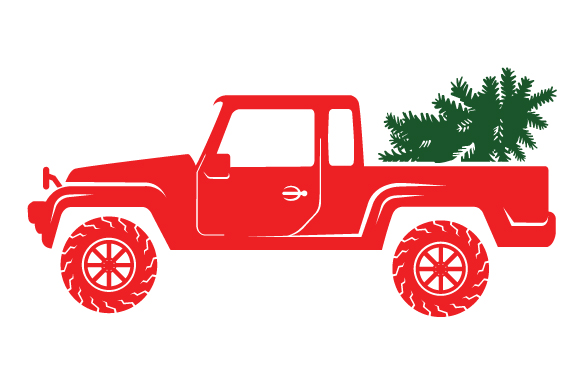 Christmas Truck Kit Volume 2 - Create Your Own Truck Christmas Craft Cut File By Creative Fabrica Crafts - Image 21