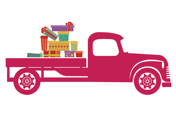Christmas Truck Kit Volume 2 - Create Your Own Truck Christmas Craft Cut File By Creative Fabrica Crafts - Image 22