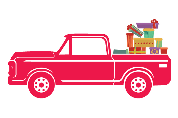 Christmas Truck Kit Volume 2 - Create Your Own Truck Christmas Craft Cut File By Creative Fabrica Crafts - Image 23