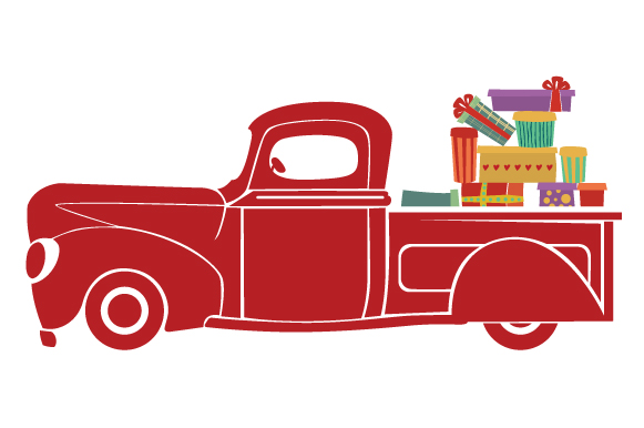 Christmas Truck Kit Volume 2 - Create Your Own Truck Christmas Craft Cut File By Creative Fabrica Crafts - Image 24