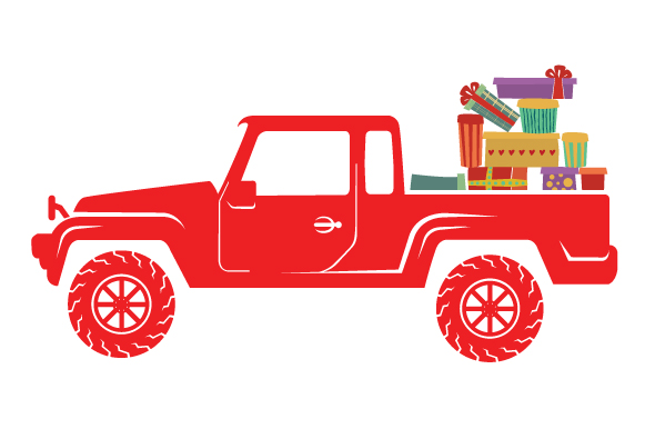 Christmas Truck Kit Volume 2 - Create Your Own Truck Christmas Craft Cut File By Creative Fabrica Crafts - Image 25