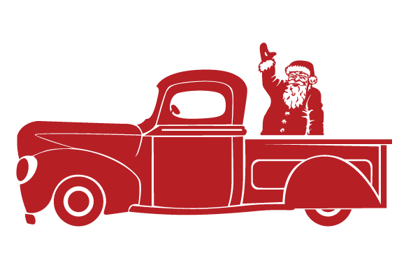 Christmas Truck Kit Volume 2 - Create Your Own Truck Christmas Craft Cut File By Creative Fabrica Crafts - Image 28