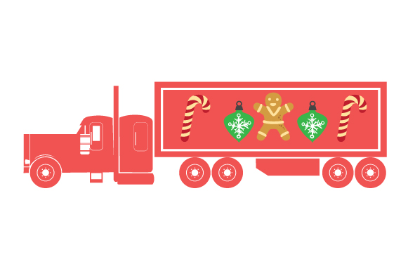 Christmas Truck Kit Volume 2 - Create Your Own Truck Christmas Craft Cut File By Creative Fabrica Crafts - Image 29