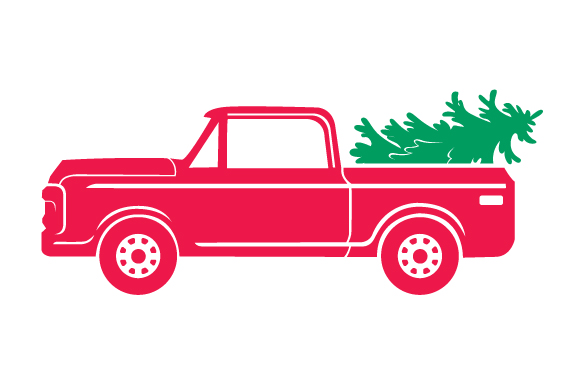 Download Free Christmas Truck Kit Volume 2 Create Your Own Truck Svg Cut File for Cricut Explore, Silhouette and other cutting machines.
