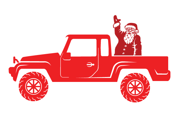 Christmas Truck Kit Volume 2 - Create Your Own Truck Christmas Craft Cut File By Creative Fabrica Crafts - Image 30