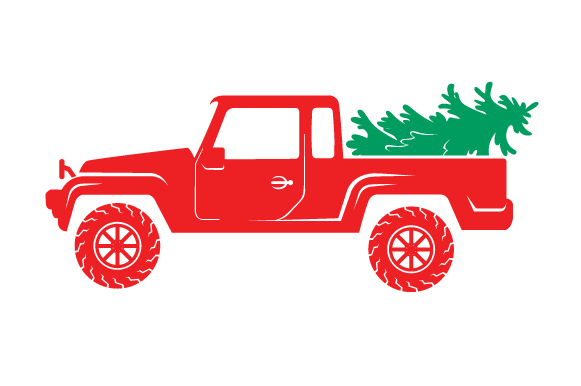 Christmas Truck Kit Volume 2 - Create Your Own Truck Christmas Craft Cut File By Creative Fabrica Crafts - Image 5
