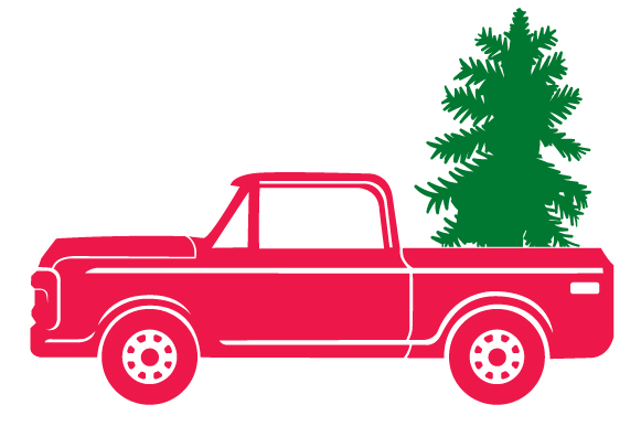 Christmas Truck Kit Volume 2 - Create Your Own Truck Christmas Craft Cut File By Creative Fabrica Crafts - Image 7