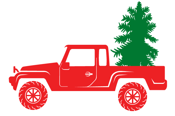 Christmas Truck Kit Volume 2 - Create Your Own Truck Christmas Craft Cut File By Creative Fabrica Crafts - Image 9