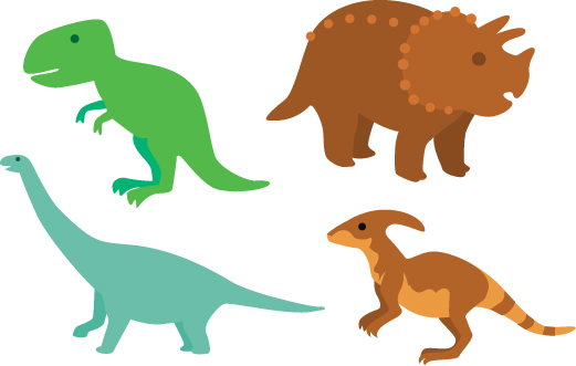 Download Free Dinosaurs Design Set Svg Cut File By Creative Fabrica Crafts for Cricut Explore, Silhouette and other cutting machines.