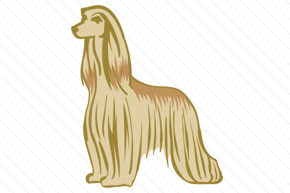 Dog Breed - Afghan Hound Dogs Craft Cut File By Creative Fabrica Crafts