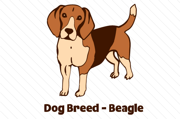 Dog Breed - Beagle Craft Design By Creative Fabrica Crafts