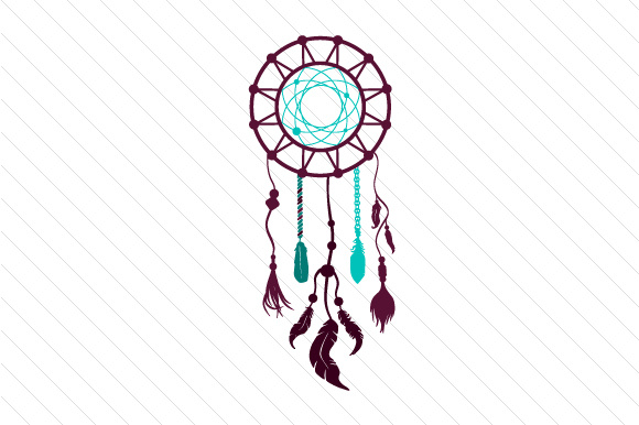Dream catcher svg cut file by creative fabrica crafts for Dream catcher graphic
