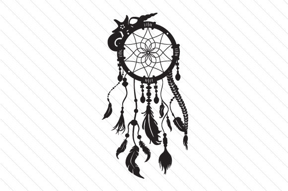 Download Free Dream Catcher Svg Cut File By Creative Fabrica Crafts Creative for Cricut Explore, Silhouette and other cutting machines.