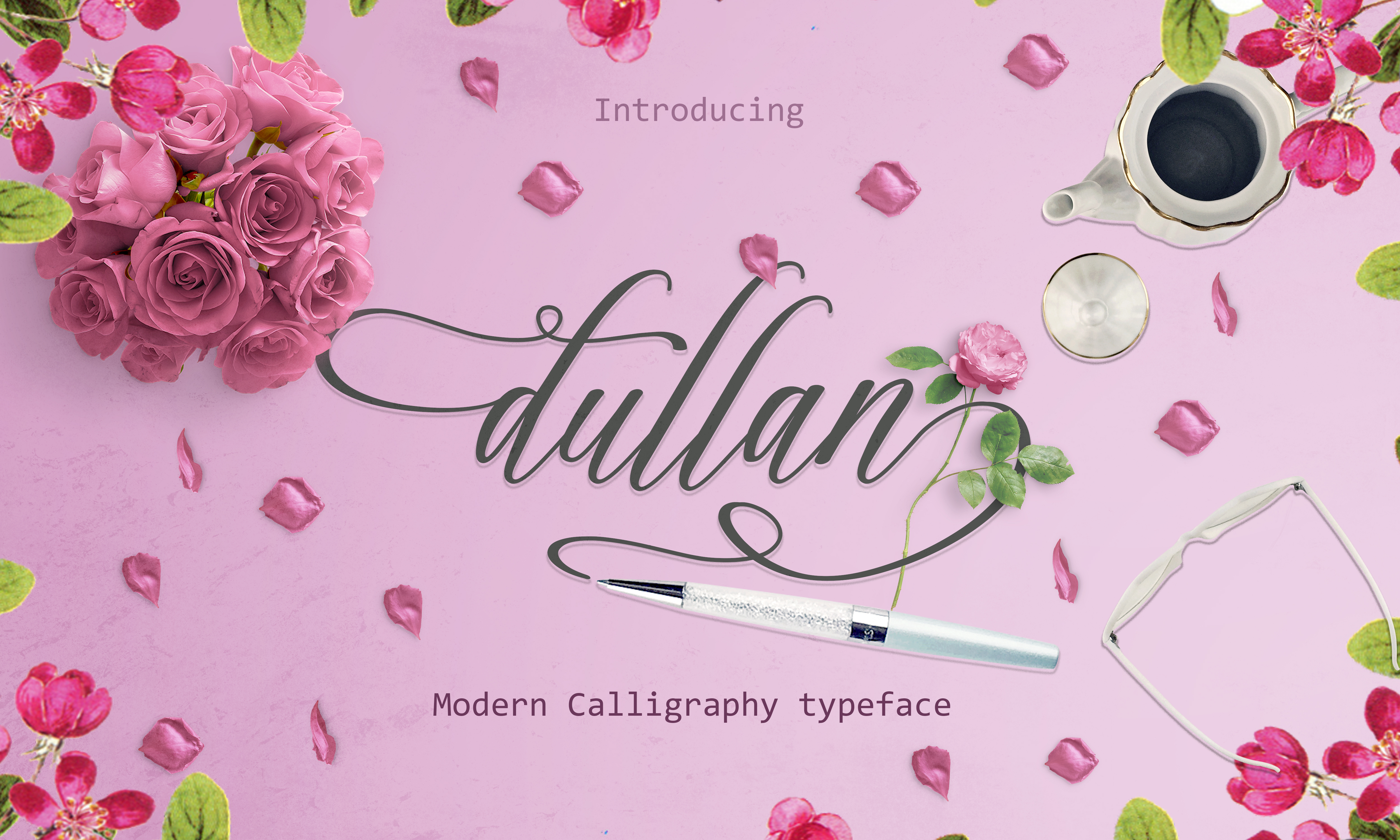 Print on Demand: Dullan Script & Handwritten Font By Creative Fabrica Fonts