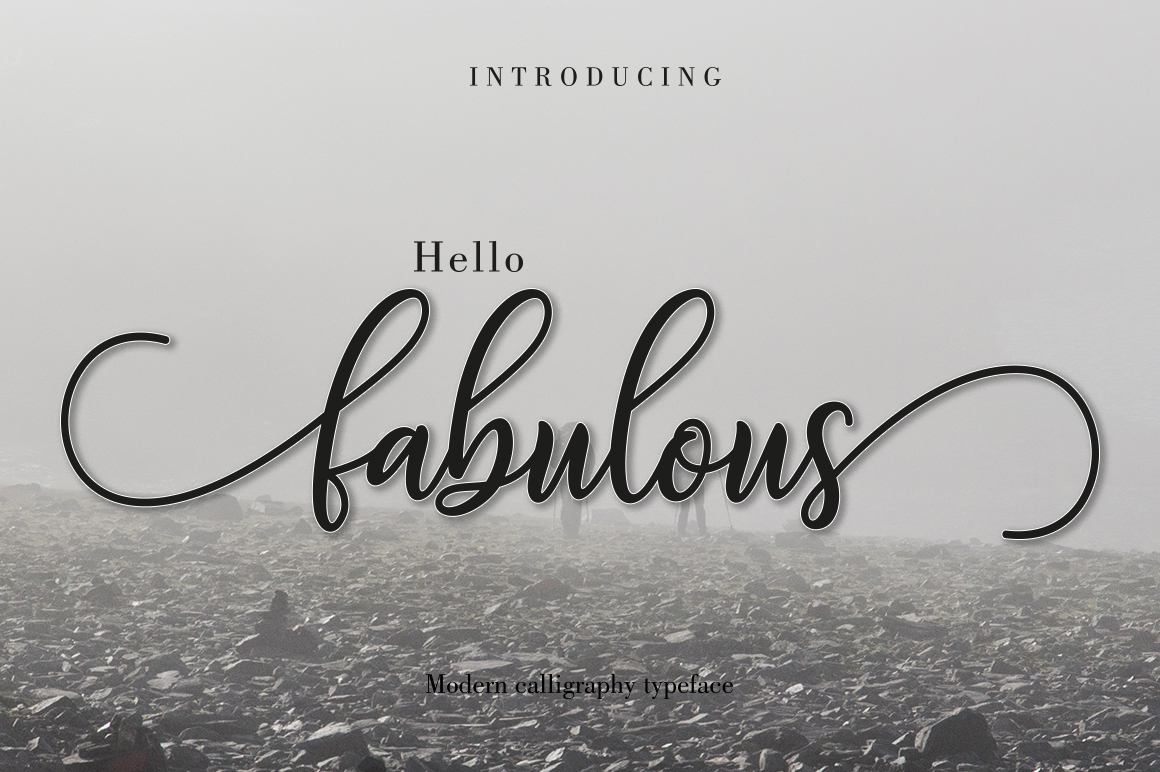 Print on Demand: Fabulous Script Script & Handwritten Font By Amarlettering