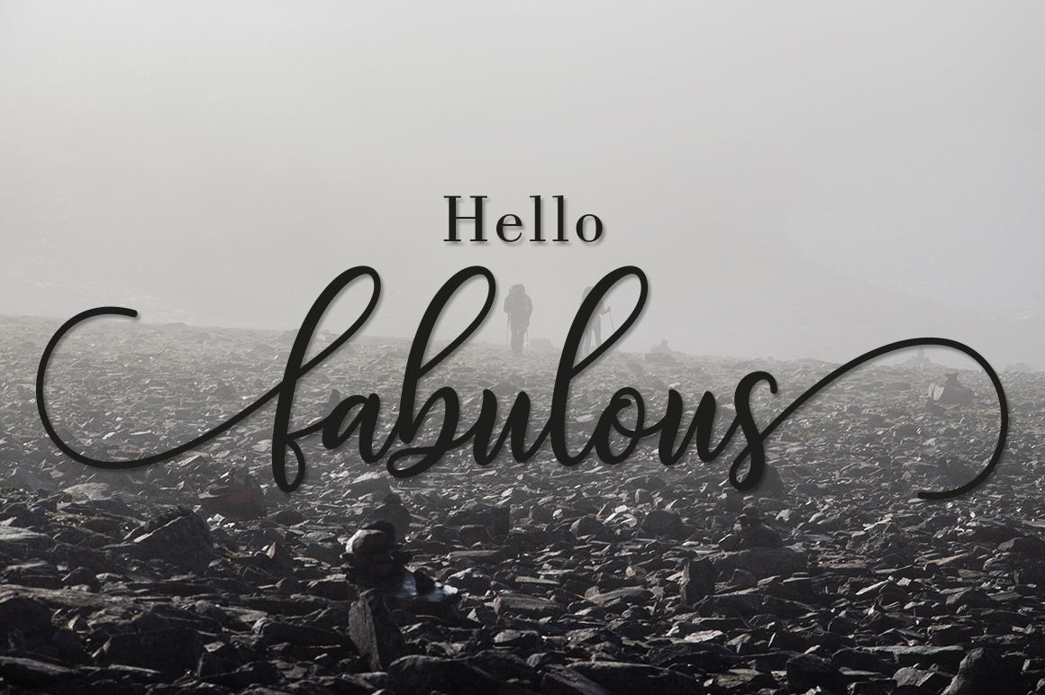 Download Free Fabulous Script Font By Amarlettering Creative Fabrica for Cricut Explore, Silhouette and other cutting machines.