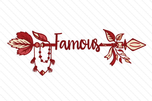 Famous Boho Craft Cut File By Creative Fabrica Crafts