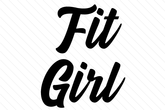 Fit Girl Sports Craft Cut File By Creative Fabrica Crafts